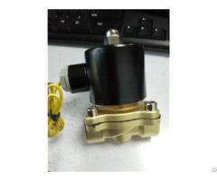 2w 25 Electric Water Style Brass Solenoid Valve