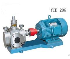 Ycb G Series Heat Insulating Gear Pump