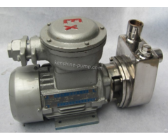 Sfbx Small Stainless Steel Self Priming Centrifugal Pump