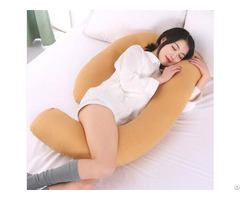 Hot Sale Factory Price Cheap Multi Functional Soft Comfortable Cotton Maternity U Shaped Pillow