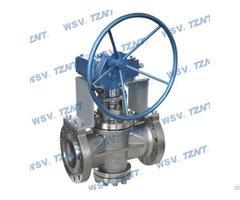 Double Gland Zirconium Plug Valve