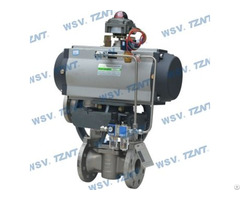 Pneumatic Nickel Plug Valve