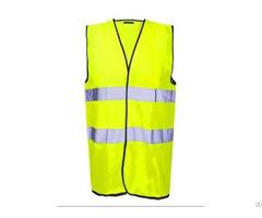 Hv 001 High Visibility Reflective Vest For Industrial Safety