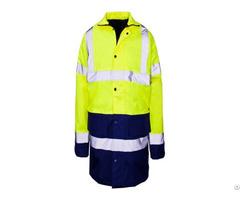 High Visibility Reflective Safety Jacket For Unisex Adults Uniform Hj 2469