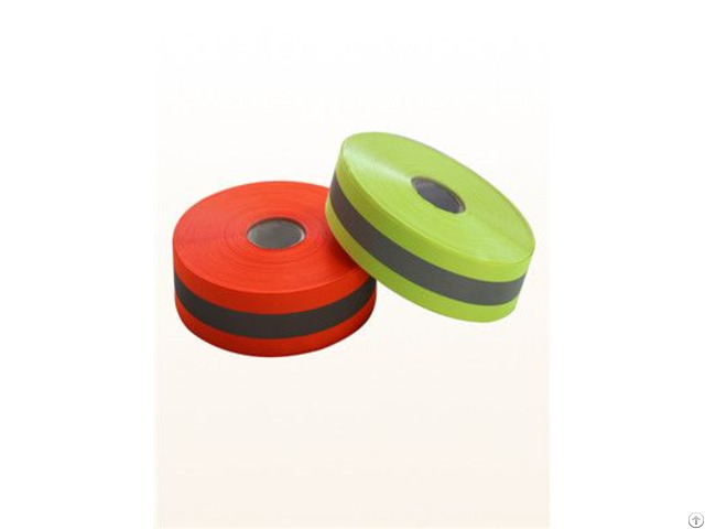 Florescent Yellow Reflective Tape For Workwear
