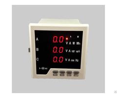 Digital Power Meter 3p4w Rs485 Di Do Analog Output Ce