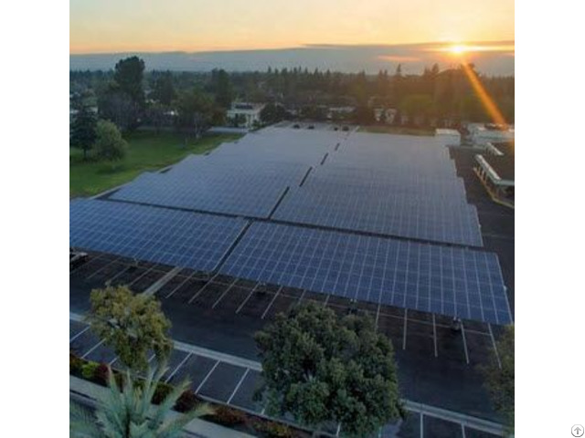 Australia Standard As Nzs 1170 Solar Power Ground System With Anodized Aluminum Structure