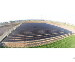 100kw 200kw 500kw 1mw Solar Panel Ground Mounting System With Anodized Aluminum Structure