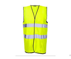 Hv 001 High Visibility Reflective Vest For Industrial Safety
