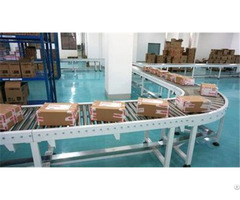 China Good Price Stainless Steel Flexible Power Roller Conveyor