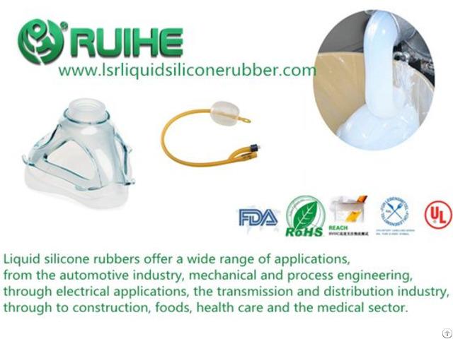Medical Grade Platinum Cured Silicone Rubber For Negative Pressure Ball
