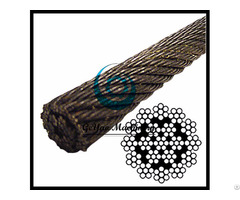 Bright Wire Rope Eips Iwrc 19x7 Rotation Rsistant Linear Foot