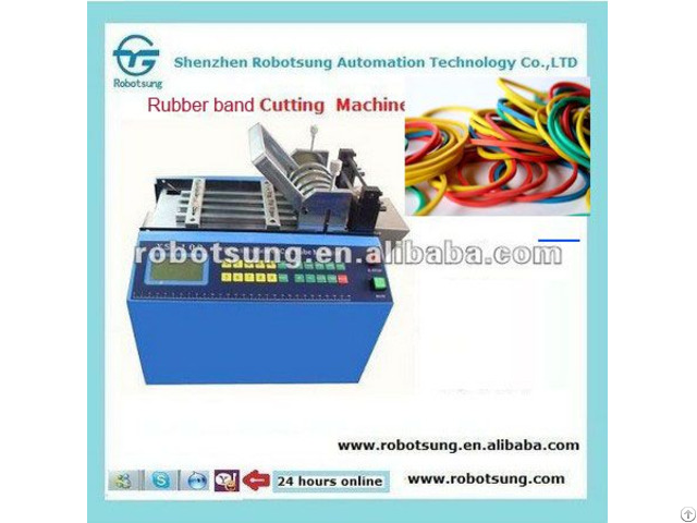Automatic Rubber Band Cutting Machine
