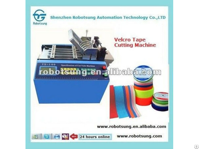 Automatic Fabric Webbing Velcro Cutting Machine