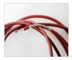 Silicone Rubber Insulation Electrical Motor Leading Wire
