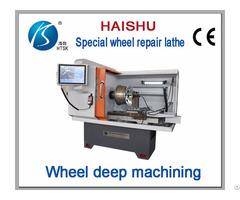 Ck6160q Mini Wheel Repair Cnc Lathe For Sale