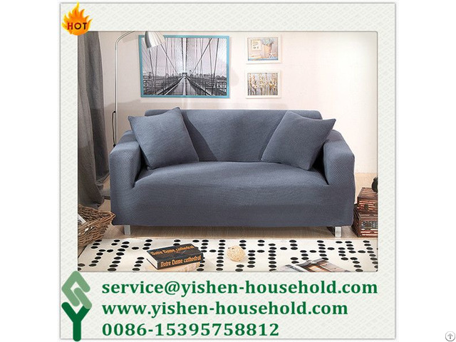 Yishen Household Spandex Cheap Sofa Slip Covers Furniture Cover