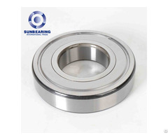 Deep Groove Ball Chinese Bearing 6317 Zz