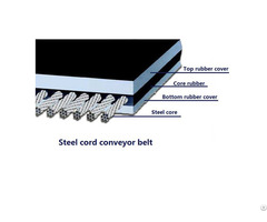 Steel Cord Conveyor Belt General Use