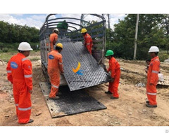 Hdpe Plastic Ground Protection Track Mats