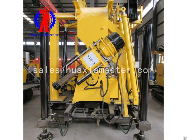 Xyd 3 Crawler Hydraulic Core Drilling Rig For China