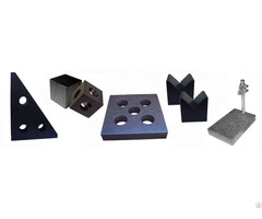 Granite V Shaped Block Precision Inspection Tools