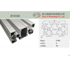 Double Aluminum Profiles Bt4590