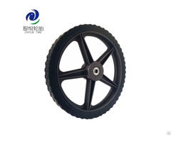 Hot Sale Hign Quality Pvc Plastic Wheel For Lawn Mower Spreader Leg Exercise Wholesale