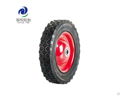 China High Quality Eight Inch Solid Rubber Wheel For Generator Trolley Cart Pressure Washer