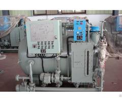 Small Ship Sewage Treatment Plant