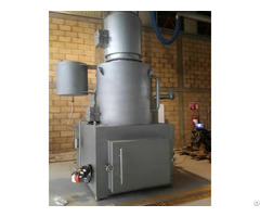 Diesel Or Gas Fuel And Heavy Duty Steel Construction Material Incinerator