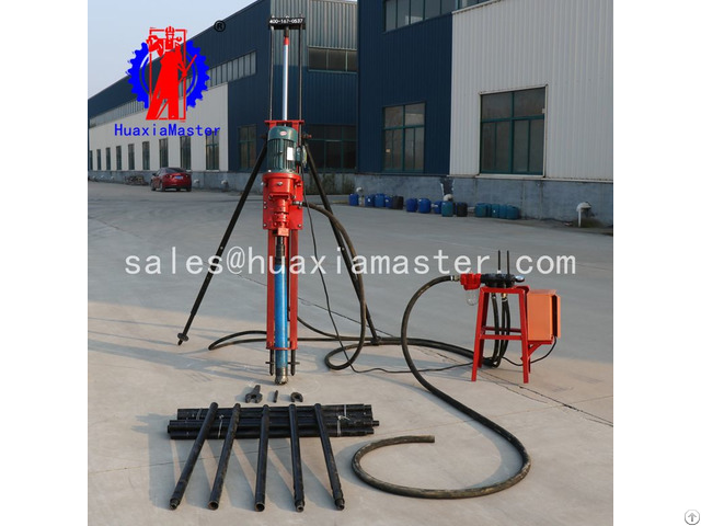 Kqz 70d Pneumatic Electric Dth Drilling Rig For China