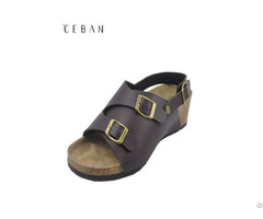 Women Wedge Heel Beach Sandals Comfortable Summer Shoes