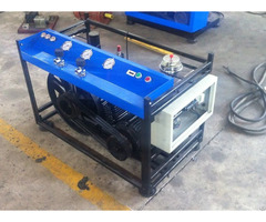 Fire Fighting 300bar Air Compressor Machine