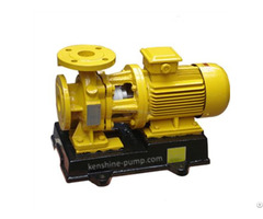 Gbw Horizontal Centrifugal Chemical Resistant Pump For Concentrated Sulfuric Acid