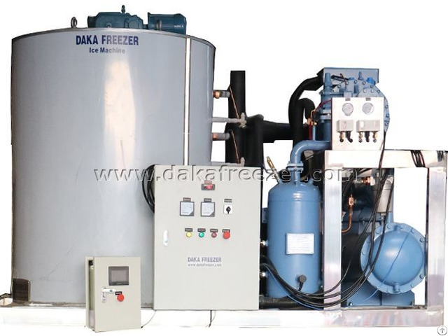 Flake Ice Machine 30 T Per Day