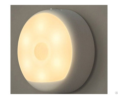 Usb Powered Small Night Light Body Automatic Induction Bedroom Bedside Led Lamp