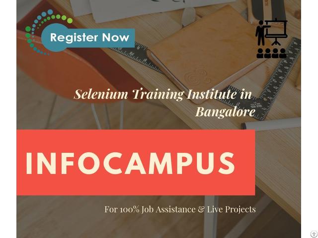 Selenium Training In Bangalore With More Detail