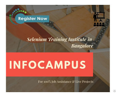 Selenium Training In Bangalore With More Detail