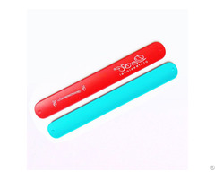 Branded Silicone Slap Wristbands