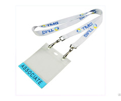 Card Holder Lanyard With Printed Logo