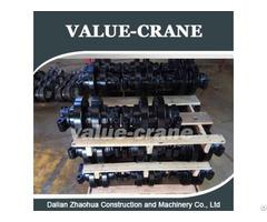 Kobelco Cke1800 Track Roller Crawler Crane Undercarriage Parts