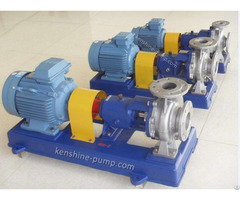 Ih Centrifugal Chemical Resistant Pump