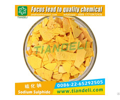Sodium Sulphide Red Yellow Flakes 60%min