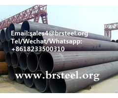 Ms Erw Welded Black Steel Pipe