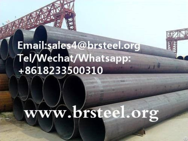 Black Carbon Erw Steel Pipe
