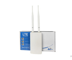 Indoor Cpe 4g Lte Wifi Router With 2 Ethernet Port