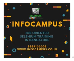 Selenium Training In Bangalore With Live Projects
