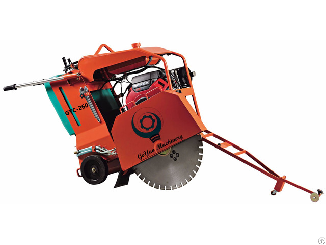 Honda Gx690 Gyc 260 Concrete Cutter Floor Saw