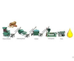Small Scale Peanut Oil Pressing Line